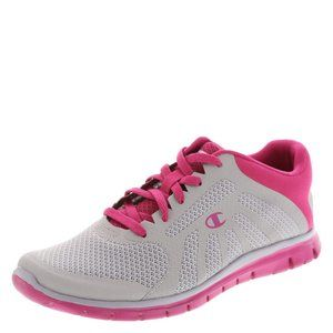 CHAMPION Hot Pink & Gray Gusto Athletic Runners
